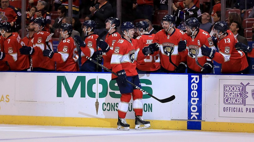 Florida Panthers wygrali z Pittsburgh Penguins /Getty Images