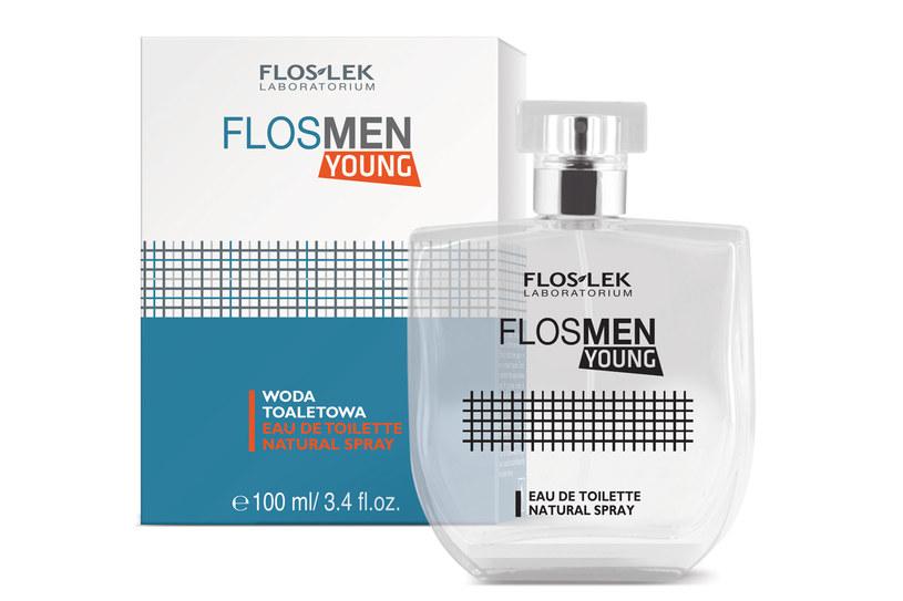 Flosman YOUNG - woda toaletowa /Styl.pl/materiały prasowe