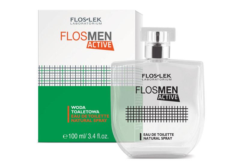 Flosmen ACTIVE - woda toaletowa /Styl.pl/materiały prasowe