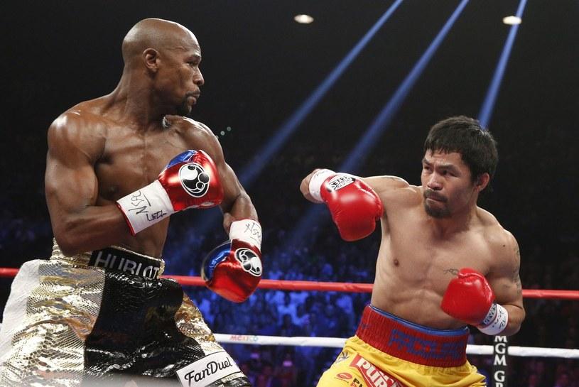 Floyd Mayweather Jr i Manny Pacquiao /AFP