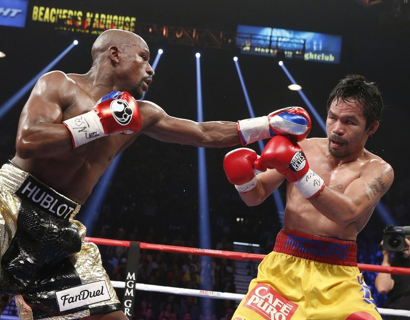 Floyd Mayweather Jr kontra Manny Pacquiao /AFP