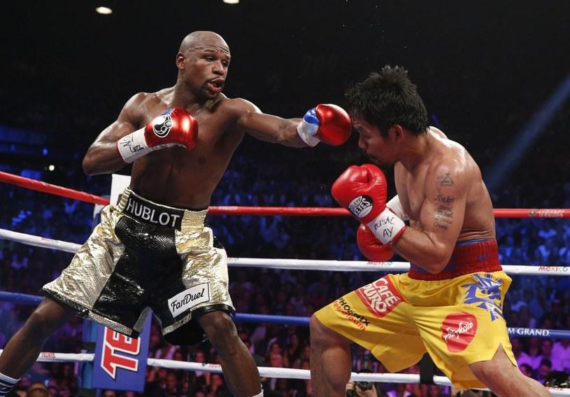 Floyd Mayweather Junior pokonał w długo oczekiwanej walce Manny'ego Pacquiao /AFP
