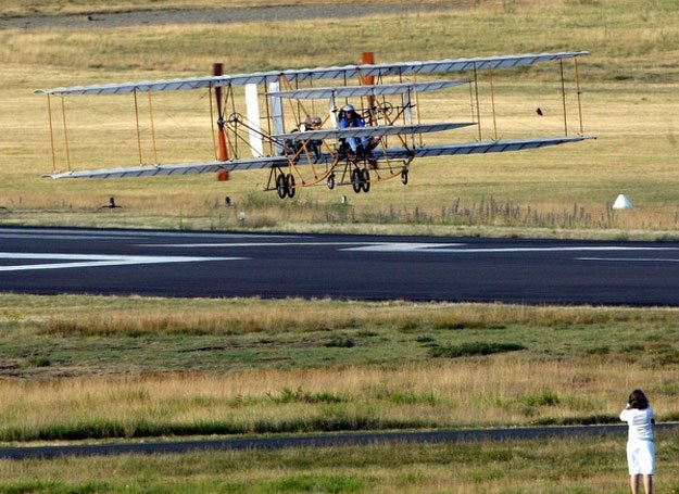 Flyer III - współczesna replika /AFP