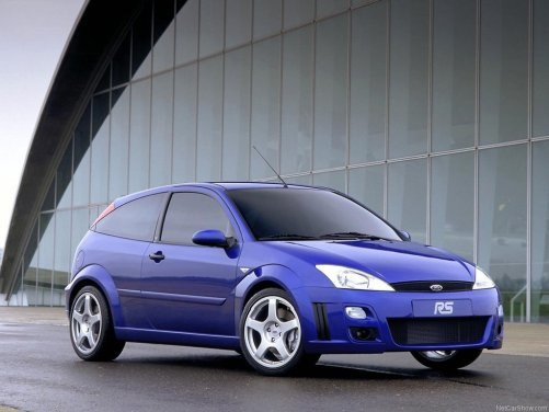 Focus RS jest marzeniem wielu miłośników Forda. Niestety używane egzemplarze kosztują od 35 do 70 tys. zł. /Ford