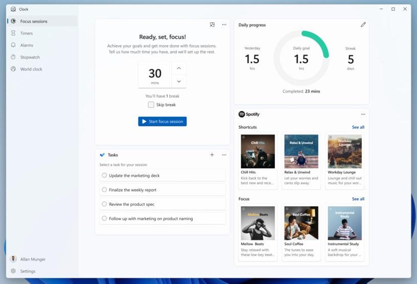 Focus Sessions Fot. Microsoft /materiał zewnętrzny