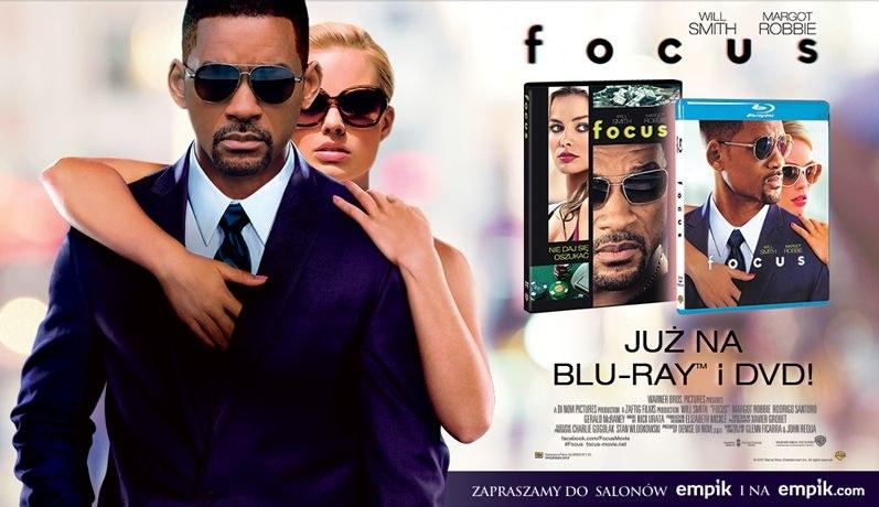 """""""Focus"""" trafia do sklepów na płytach DVD i Blu-ray /materiały dystrybutora"""