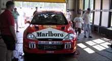 Focus WRC podczas badania technicznego /INTERIA.PL