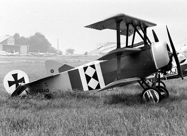 Fokker Dr.I. Dokładnie na takim trójpłatowcu postrach siał Czerwony Baron /East News