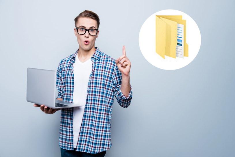 Foldery - nowe pokolenie użytkowników technologii nie wie, co to jest /123RF/PICSEL