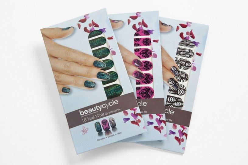 Folie beautycycle™ Nail Wraps /materiały prasowe