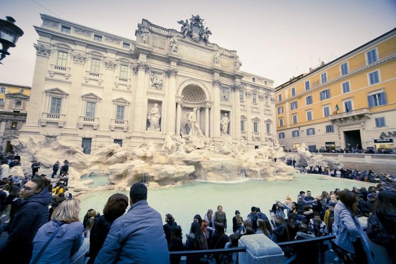 Fontanna di Trevi jest jedną z najpopularniejszych atrakcji we Włoszech /Dariusz Zarod /East News