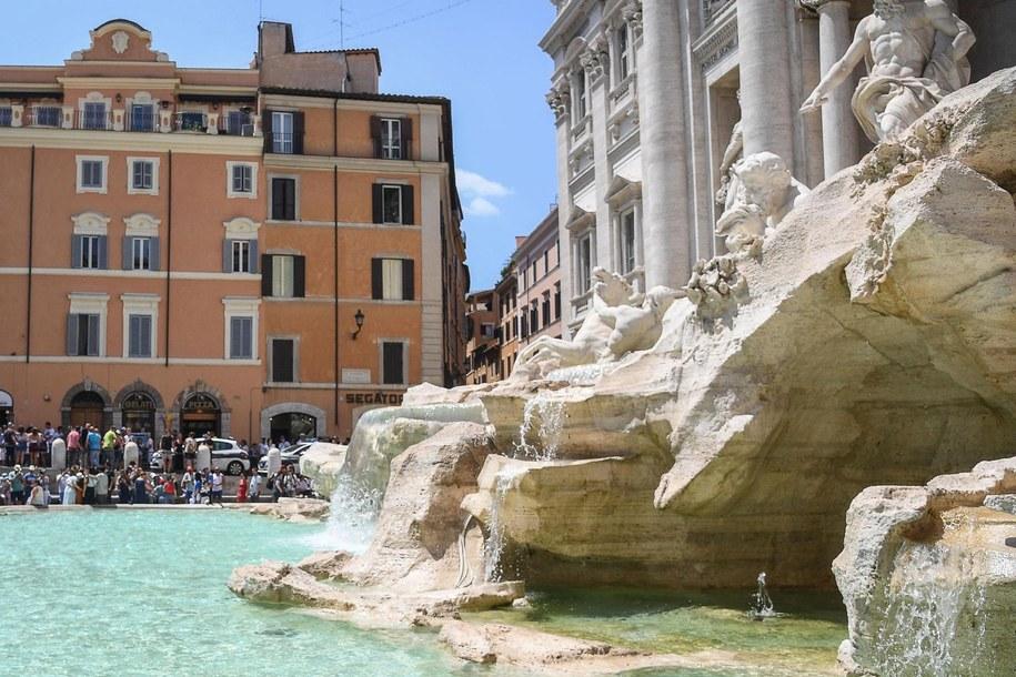 Fontanna di Trevi w Rzymie (zdjęcie ilustracyjne) /ALESSANDRO DI MEO    /PAP/EPA