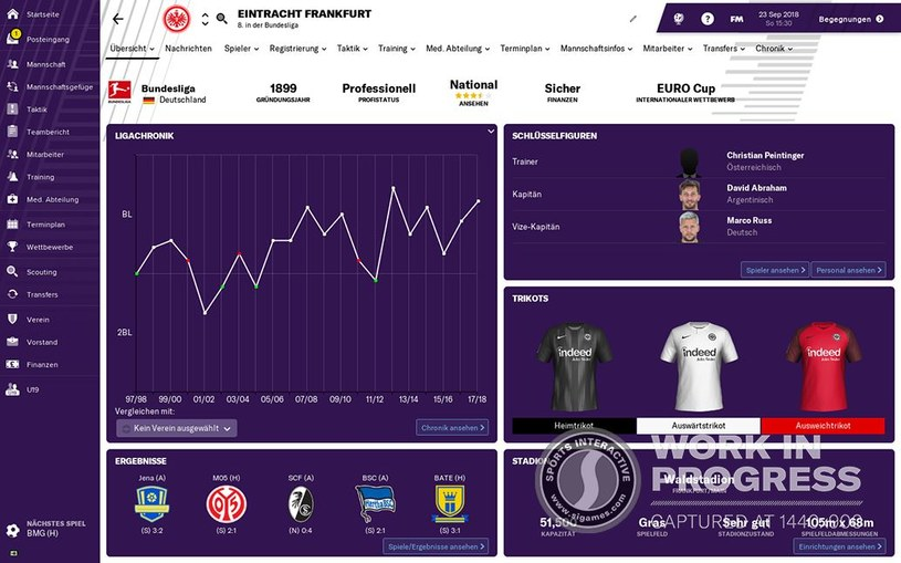 Football Manager 2019 /materiały prasowe