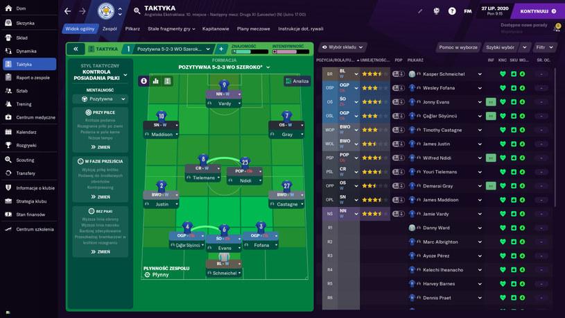 Football Manager 2021 /materiały prasowe