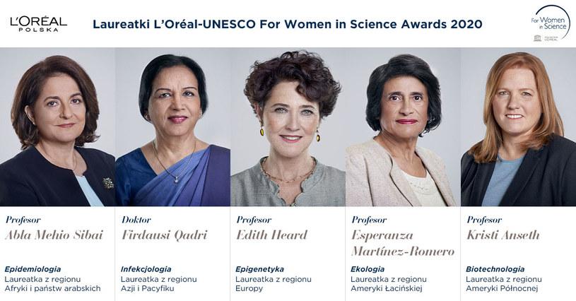 For Women in Science: Nagrodzone badaczki /materiały prasowe