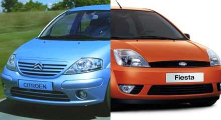 Ford Fiesta czy Citroen C3? /INTERIA.PL