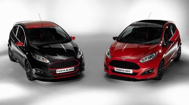 Ford Fiesta Red Edition oraz Black Edition /Ford