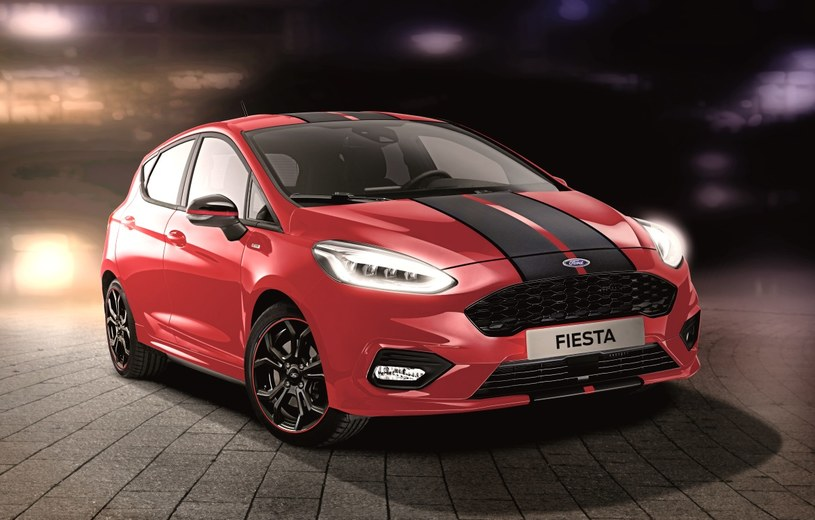 Ford Fiesta ST-Line Red Edition /