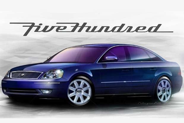 Ford Five Hundred (kliknij) /INTERIA.PL