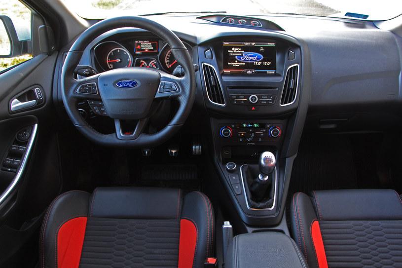 Ford Focus ST 2.0 TDCi /Michał Domański /INTERIA.PL