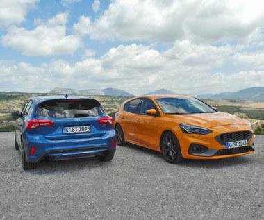 Ford Focus ST - lubi zakręty, nie proste drogi