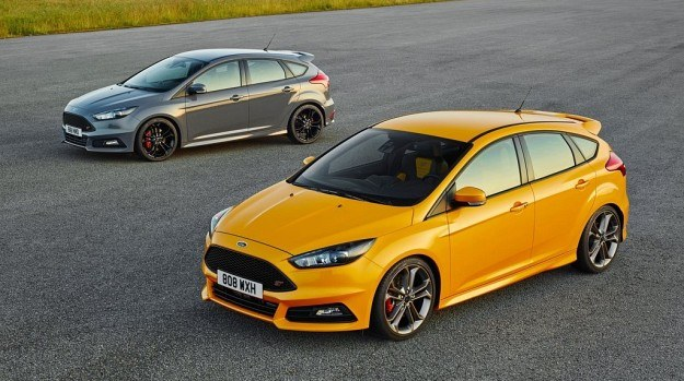 Ford Focus ST po liftingu /Ford