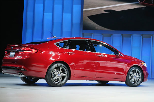 Ford fusion czyli mondeo /AFP