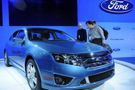 Ford jako jedyny z wielkich pojawił się w Los Angeles /AFP