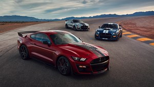 Ford Mustang Shelby GT500 - niezwykle szybki