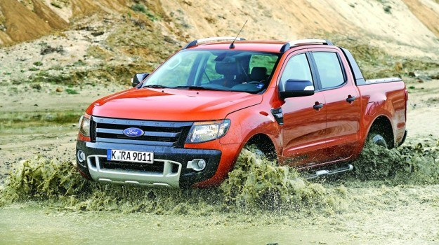 Ford Ranger jako pierwszy pikap zdobył 5 gwiazdek w testach zderzeniowych Euro NCAP. /Motor