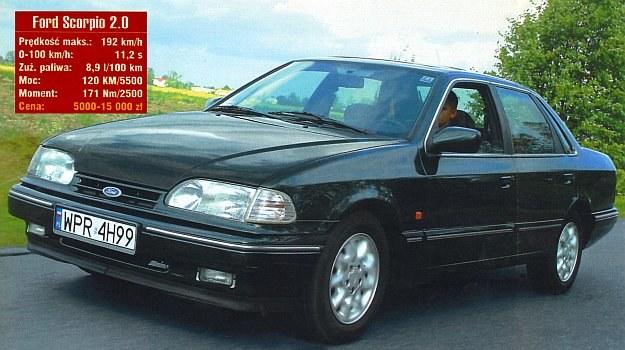 Ford Scorpio /Motor