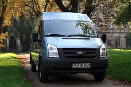 Ford transit / Kliknij /INTERIA.PL
