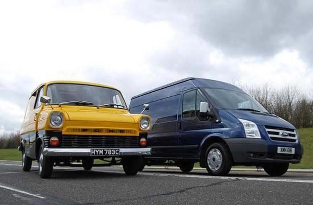 Ford Transit przebył długą drogę... /