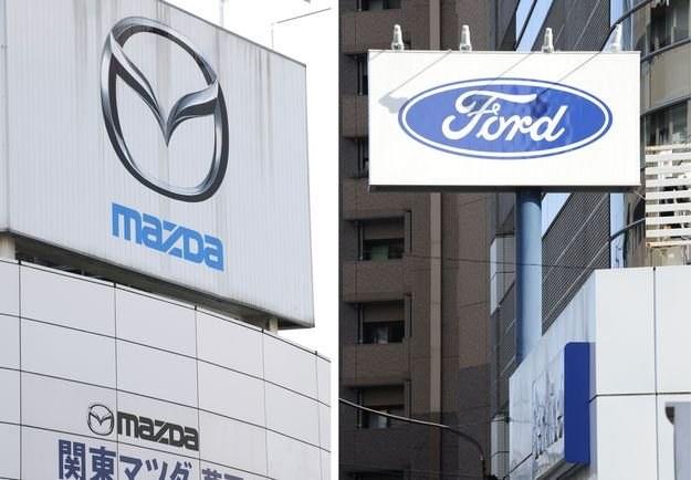 Ford zmniejsza zaangażowanie w Mazdę /AFP