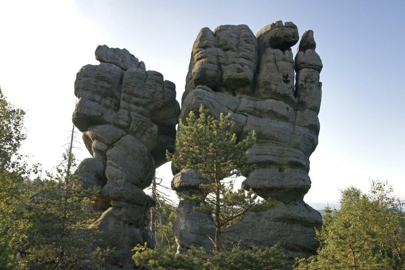 """Formacja skalna o nazwie """"Świątynia Indyjska"""" /Łukasz Korzeniowski /East News"""