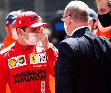 Formuła 1. Charles Leclerc nie wystartował w GP Monako!