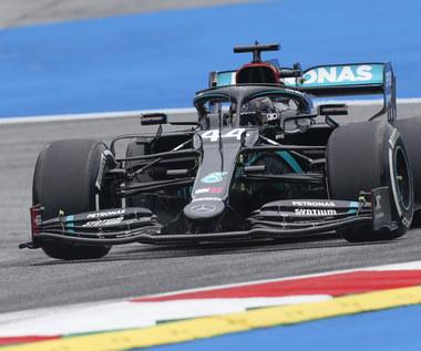 Formuła 1. Hamilton najlepszy w pierwszym treningu przed GP Austrii. Kubica nie pojawił się na torze