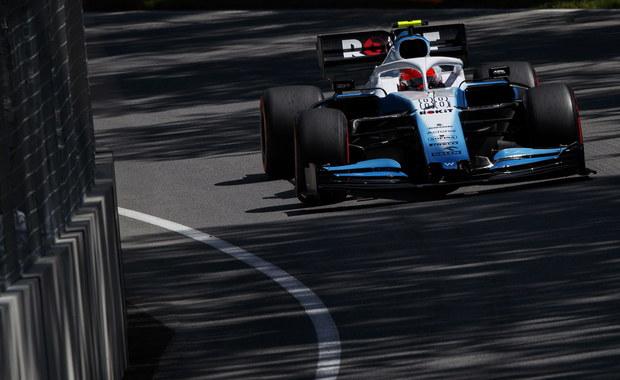 Formuła 1: Kubica najwolniejszy w kwalifikacjach Grand Prix Kanady