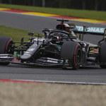 Formuła 1. Lewis Hamilton najlepszy w kwalifikacjach przed GP Belgii