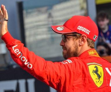 Formuła 1. Sebastian Vettel odchodzi z Ferrari