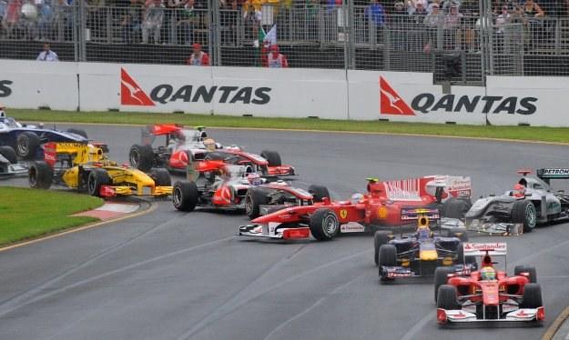 Formule 1 potrzeba deszczu /AFP