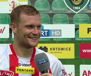 Fortuna 1 Liga. Aleksander Komor: Pokazaliśmy charakter w tym meczu (POLSAT SPORT). Wideo