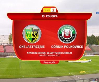Fortuna 1 Liga. GKS Jastrzębie - Górnik Polkowice. Wszystkie bramki. WIDEO (Polsat Sport)
