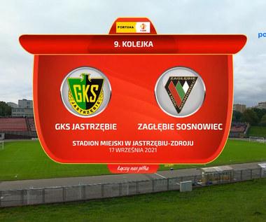 Fortuna 1. Liga. GKS Jastrzębie - Zagłębie Sosnowiec 1-1. Wszystkie bramki (POLSAT SPORT). Wideo