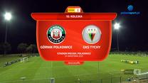 Fortuna 1. Liga. Górnik Polkowice - GKS Tychy 0-1 - Skrót (POLSAT SPORT). Wideo