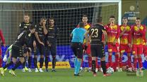 Fortuna 1 Liga. Korona Kielce - Widzew Łódź 0-1. Skrót meczu. WIDEO (Polsat Sport)
