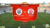 Fortuna 1 Liga. Sandecja Nowy Sącz - ŁKS Łódź 0:1. Skrót meczu. Wideo (POLSAT SPORT)