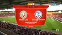 Fortuna 1. Liga. Widzew Łódź - Skra Częstochowa 4-0. Wszystkie bramki (POLSAT SPORT). Wideo