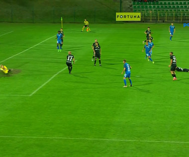 Fortuna I Liga. Górnik Polkowice - Stomil Olsztyn 2-2. Wszystkie bramki (POLSAT SPORT). Wideo