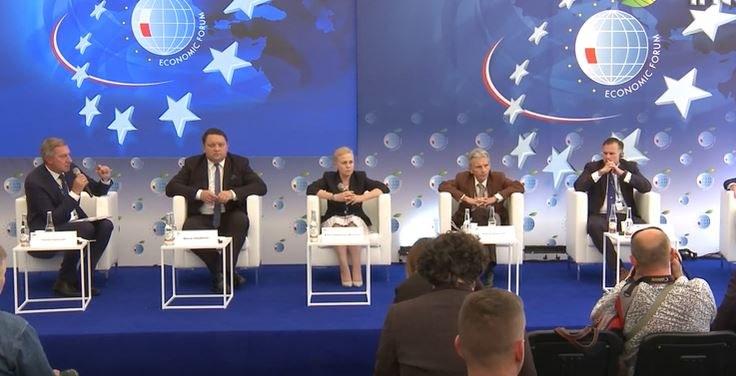 """Forum Ekonomiczne w Krynicy, debata - """"Silna Polska w turbulentnej Europie"""" /INTERIA.PL"""